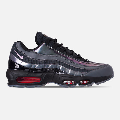 de23ba8494 AUTHENTIC Nike Air Max 95 LV8 Black Ember Glow Dark Grey AO2450 001 Men size