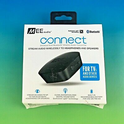 MEE audio Connect Universal Dual Bluetooth Wireless Audio Transmitter AF-T1B #w4