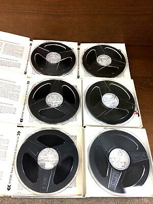 "Reel to Reel 7"" Tape NEW 1/4"" 1800' Scotch Magnetic Tape"