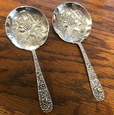 S. Kirk and Son Inc 1. Sterling Berry , Nut , or Bon Bon Spoon