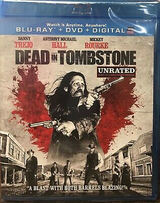 Dead in Tombstone (Blu-ray/DVD, 2013, 2-Disc Set, Unrated) NEW SEALED