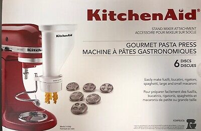 KITCHENAID KSMPEXTA PASTA Press Attachment with 6 ...