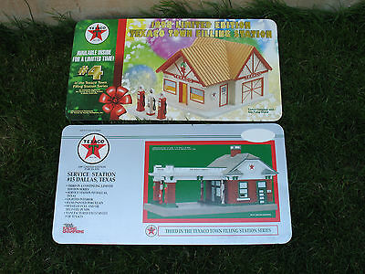POSTERS Texaco Collectible Ceramic Houses