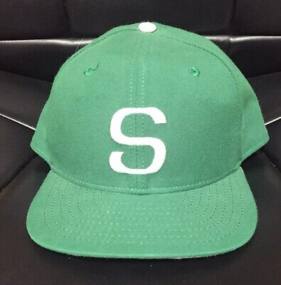 buy popular c43c5 527ce Vintage Michigan State Spartans Sz 7 3 8 NEW ERA Fitted Hat USA Baseball Cap