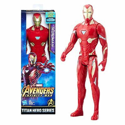 "Marvel Avengers Infinity War Titan Hero Series Iron Man 12"" Action Figure Hasbro"