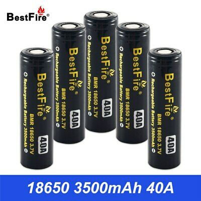 18650 Battery 3.7V Rechargeable Battery 3500mAh 40A for Vaporesso Luxe SWAG