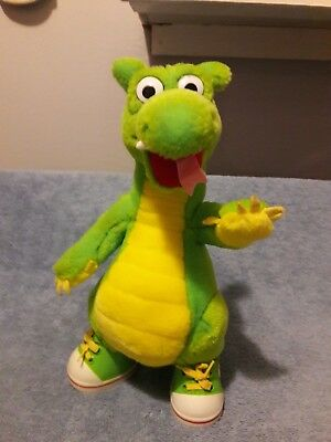 """1995 THE ADVENTURES OF DUDLEY the DRAGON 10"""" Plush"""