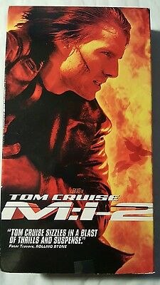 Mission: Impossible II (VHS, 2000) Tom Cruise and Thandie Newton