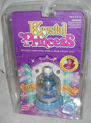 #9464 NRFP Vintage Playskool Krystal Princess Snow Dreams Doll
