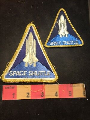 Vtg Lot Of 2 Size Patches NASA SPACE SHUTTLE Patch Lot Of 2 C803