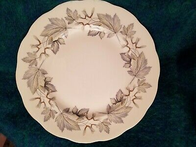 Royal Albert Silver Maple 2 Dinner Plates 10 3/8""