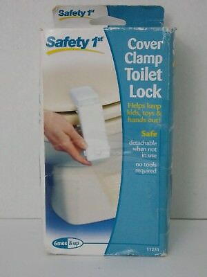 Safety 1st ~ Cover Clamp Toilet Lock
