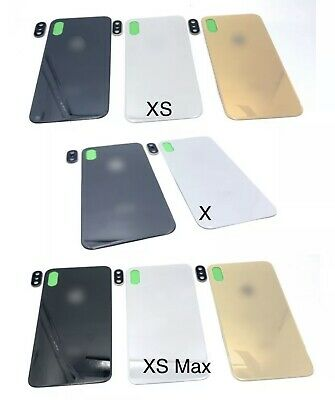 Battery Glass Cover Housing Back Door Replacement For iPhone X-XS-XS Max+Lens