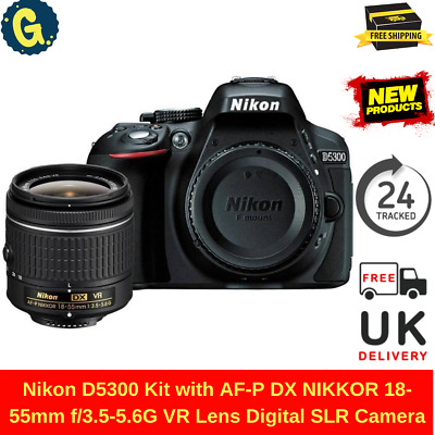 Nikon D5300 Kit with AF-P DX NIKKOR 18-55mm f/3.5-5.6G VR Lens Digital SLRCamera