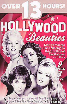 Hollywood Beauties (9 Movies / 3 DVDs)  SEE TITLES BELOW   NEW
