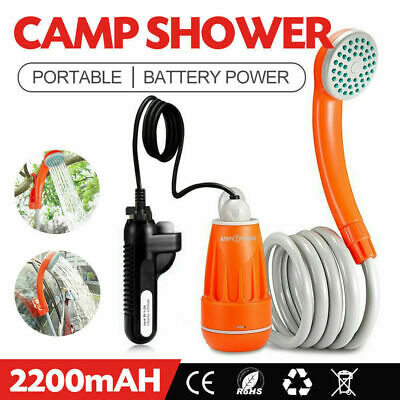 ATEM POWER Portable Shower Set Water Pump Travel Trip Camp Boat Caravan Outdoor