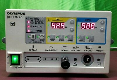 OLYMPUS UES-20 Electrosurgical Generator without Foot switch