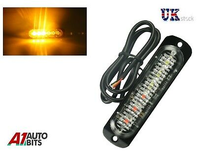 Ultra Slim 333 ma 6 Led Ambré Voiture SUV Surface Support