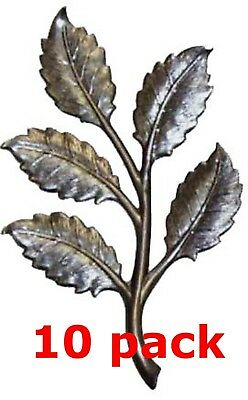 """Metal Stampings Fan Leaf Leaves Plants Decoration STEEL .020/"""" Thickness L189"""