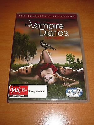 The Vampire Diaries : Season 1 ( Dvd , 5-Disc Set Region 4 )
