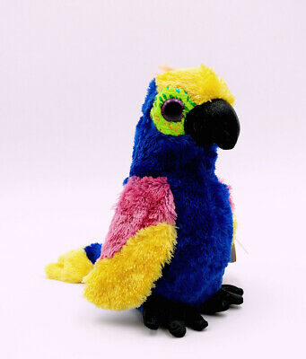 """TY WYNNIE COLORFUL BIRD 6/"""" BEANIE BOOS-NEW W//TAG *IN HAND NOW*LOVES TO COLOR"""