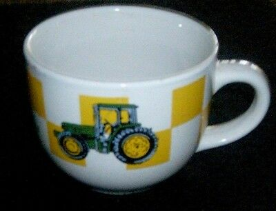 "John Deere Coffee Mug by Gibson - 4"" tall, 5"" top diameter"