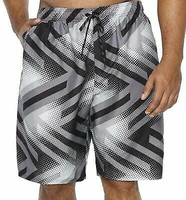 56e9e4e320 Men's Nike Breaker Volley Shorts Swim Trunks NESS8422-001 Grey S, M, L
