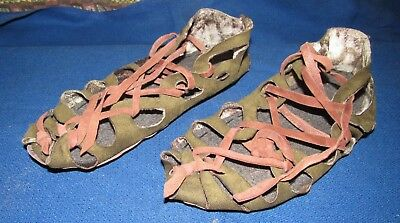 Ancient Sandals Scythian-Sarmatia Handmade Authentic replica