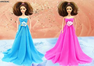 """Kids Toy Doll Accessories Doll Clothes Wedding Dress Party Dress For 11.5"""" Doll"""