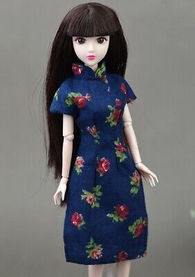 """Handmade Doll Dress For 11.5"""" Doll Clothes Cheongsam Chinese Traditional Qipao"""