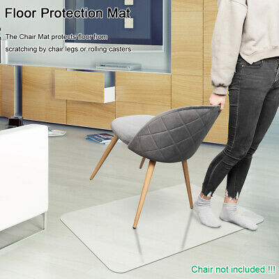 Fantastic 2Mm Thick Pvc Home Office Use Chair Floor Mat For Wood Tile Machost Co Dining Chair Design Ideas Machostcouk