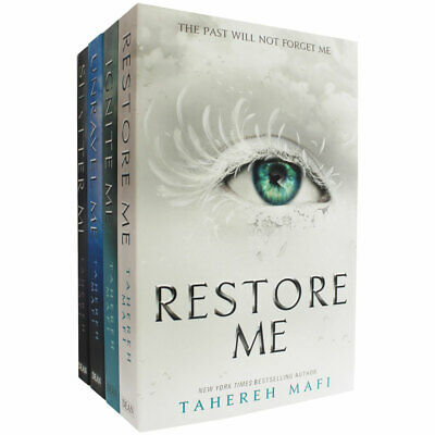 Shatter Me Series - 4 Book Collection, Fiction Books, Brand New