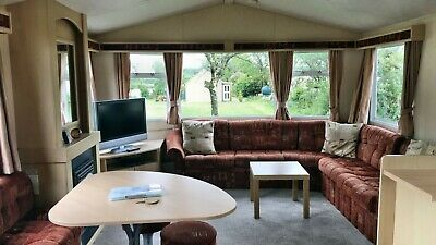 SPECIAL PRICE 3 NIGHTS in Pet Friendly STATIC CARAVAN North Devon Near Bude