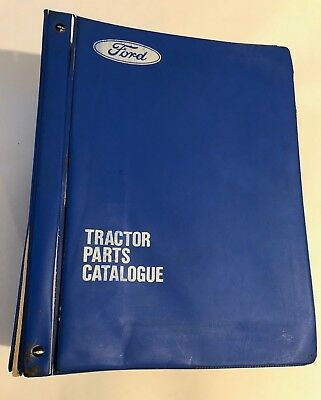 FORD Tractor Genuine Parts Manual 2600 3600 4600 5600  6600  & 7600 - 600 Series