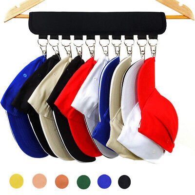 AU STOCK Baseball Cap Rack Hat Holder Rack Home Organizer Storage Door Hanger p