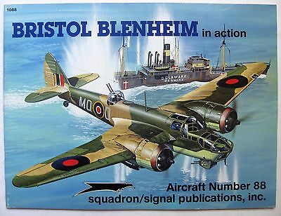 BRISTOL BLENHEIM IN action squadron/signal Aircraft Number