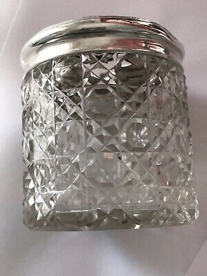 Silver Topped Vanity Jar - John & William Deakin - Chester - 1920