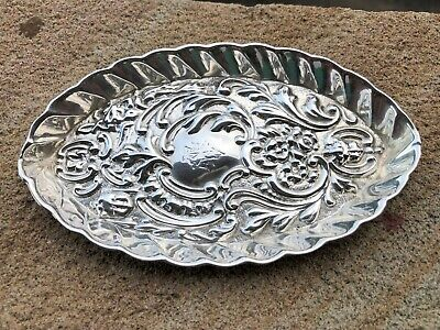 Sterling Silver Pin Dish - James Deakin & Sons -  Chester - 1897