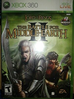 Lord of the Rings: The Battle for Middle-earth II (Xbox 360 2006) Brand New