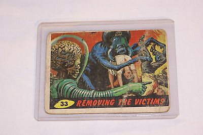 "1962 Mars Attack ""Removing the Victims"" #33"