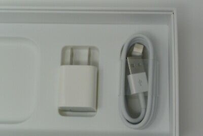 Original Apple 6ft Lightning Cord Cable + Cube Wall Charger for iPhone X 8/7/7S