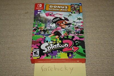 Splatoon 2 Starter Pack w/Guide (Nintendo Switch) NEW SEALED FROM FACTORY CASE!