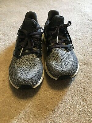 807d9a68ad2 Adidas Ultra Boost 2.0 Mystery Grey Charcoal White Black PK Mens Size 9  BB6056