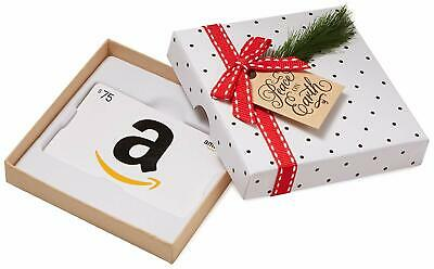 Amazon.com Gift Card in a Holiday Sprig Box - $75