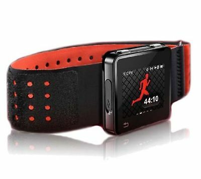 *New*Motorola Sports Armband For Motoactv ~Red & Black~