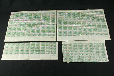 1935 Lithuania Sc# 293 MNH Full & Partial Sheets - 300 Mint Green Stamps