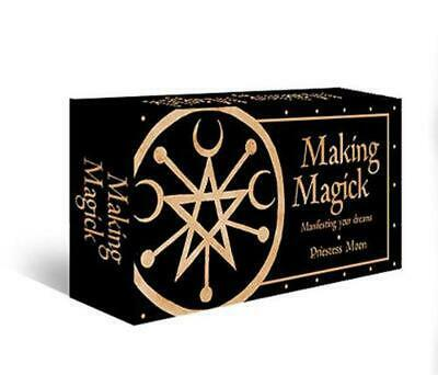 Making Magick: Manifesting your dreams by Priestess Moon Free Shipping!