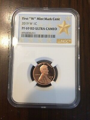 2019 W Lincoln Cent Proof NGC PF 69RD ULTRA CAMEO  Thick Planchette