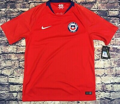 8b4e66dce42 Nike Chile National Soccer Red Jersey 2018 New Mens Medium MSRP $90