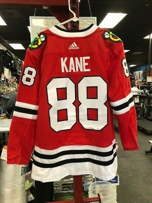dac43ce0b60 Adidas Patrick Kane Chicago Blackhawks Red Authentic Player Jersey #88 52  Large